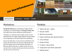 PA Markfundament website