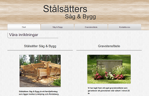 stalsatter.se website